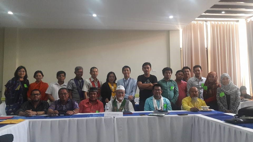 During the Consultation Meeting together with 'Ulama Leaders